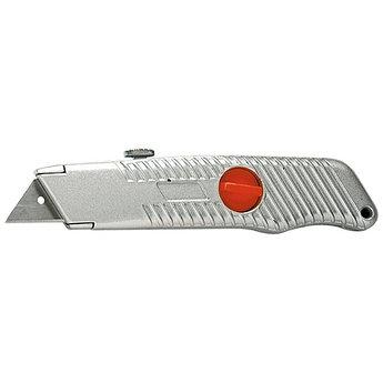 (78964) Нож, 18 мм, выдвижное трапециевидное лезвие, металлический корпус// MATRIX