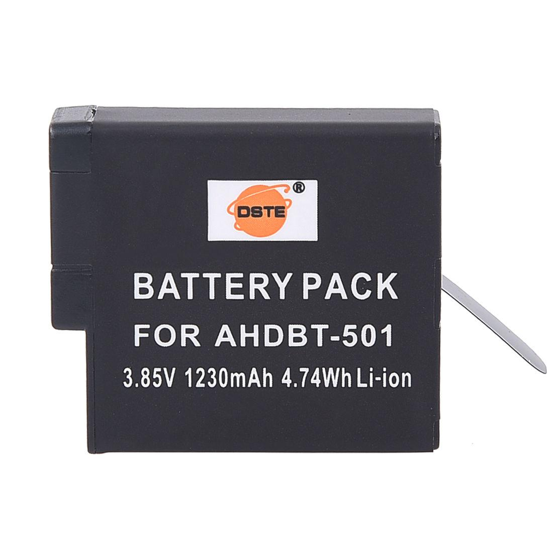 GoPro hero 5 Аккумуляторы  / 1230 mAh/ 3.85V / 4.74Wh