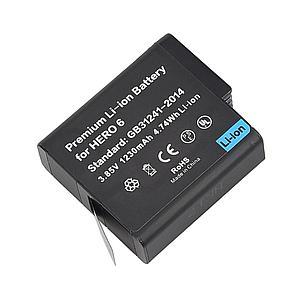 GoPro hero 6 Аккумуляторы  / 1230 mAh/ 3.85V / 4.74Wh, фото 2