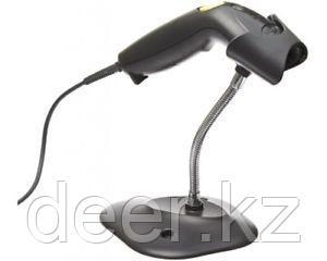 Сканер штрихкодов Motorola LS1203-7AZU0100SR черный, в комплекте кабель USB, подставка