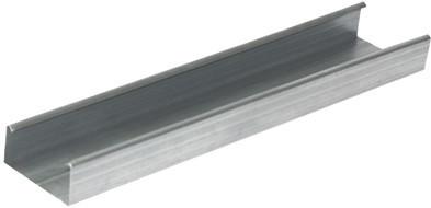 Профиль потолочный (ПП) 60/27x3м толщина 0,45 мм