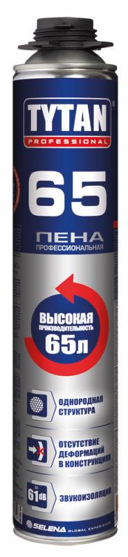 Пена профессиональная Титан TYTAN Professional 65