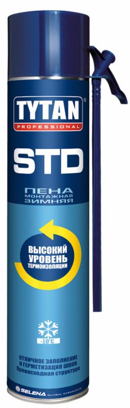 Пена монтажная зимняя Титан TYTAN Professional STD