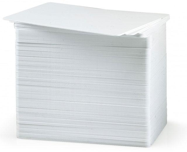 Карточки,30 mil,500 шт, Premier (PVC) Blank White Cards 104523-111