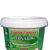 Штукатурка Гауди Leonardo 7 кг водно-дисперсионная акриловая декоративная