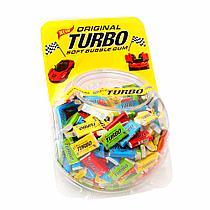 Turbo жевательная резинка штучно 4,5 гр  (Сфера 300шт в упак)