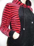 Женский велюровый спортивный костюм с капюшоном. Россия., фото 2