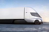 Премьера нового электрического грузовика «Tesla»