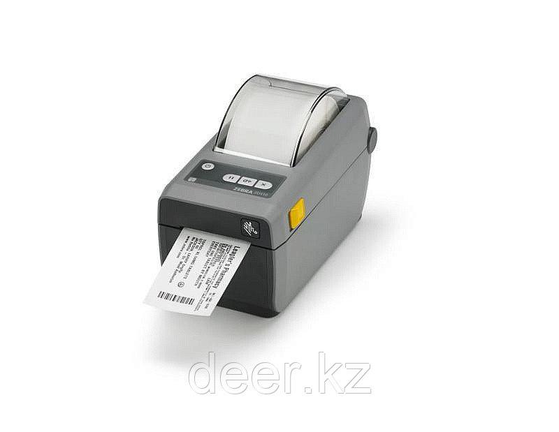 "DT принтер ZD410; 2"", 203dpi, USB, USB Host, Bluetooth Low Energy (BTLE), Ethernet ZD41022-D0EE00EZ"