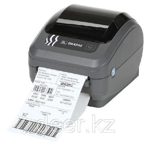 Принтер GK420d (203 dpi,ширина печати 102 мм, скорость 127 мм/сек, RS232, USB) GK42-202520-000
