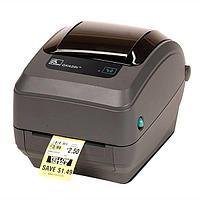 Принтер GK420t, RS232, USB, LPT (203 dpi,ширина печати 102 мм, скорость 127 мм/сек, RS232, USB)