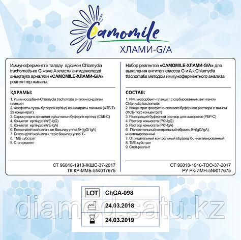 ИФА реагенты CAMOMILE-Хлами-G/А, фото 2