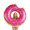 Пончик надувной для пляжного отдыха 120 см