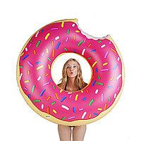 Пончик надувной для пляжного отдыха 120 см, фото 1