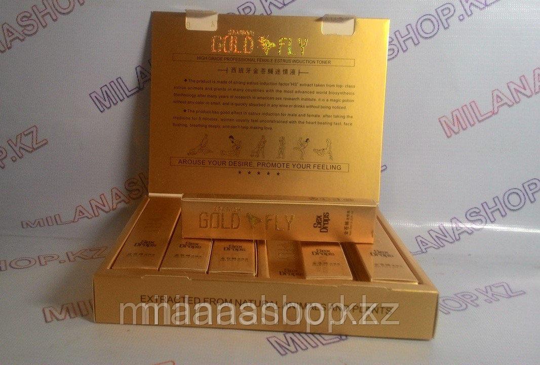 Gold Fly ( шпанская мушка) упаковка 12 шт