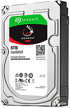 "Seagate IronWolf ST8000VN0022 Жесткий диск для NAS систем 8Tb HDD SATA 6Gb/s 7200rpm 3.5"" 256Mb"