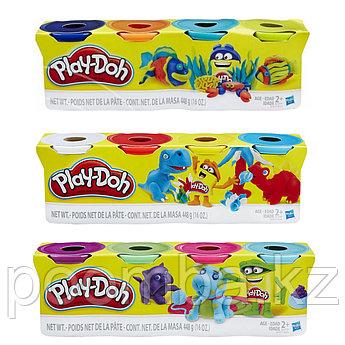 Игровой набор пластилина Play-Doh, 4 баночки, 448 гр.