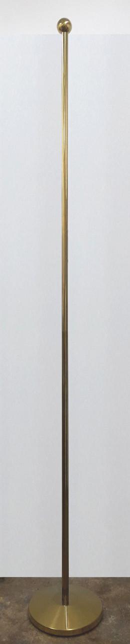 Флагшток напольный кабинетный 2,5м.