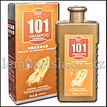 """Шампунь """"101"""" от Oumile против выпадения волос с экстрактом женьшеня."""
