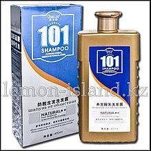 """Шампунь """"101"""" от Oumile против выпадения волос с экстрактами тибетских трав."""