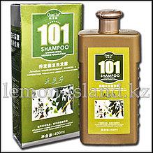 """Шампунь """"101"""" от Oumile против выпадения волос с экстрактом чернильного орешка."""