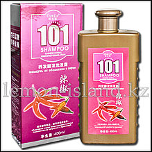 """Шампунь """"101"""" от Oumile против выпадения волос с экстрактом перца чили."""