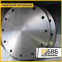 Заглушка фланцевая Ду 125 Ру 100 ст.20, 09Г2С