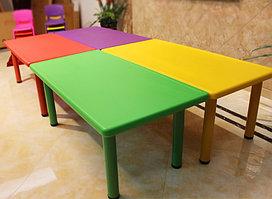 Детский стол прямоугольный 120x60x52см