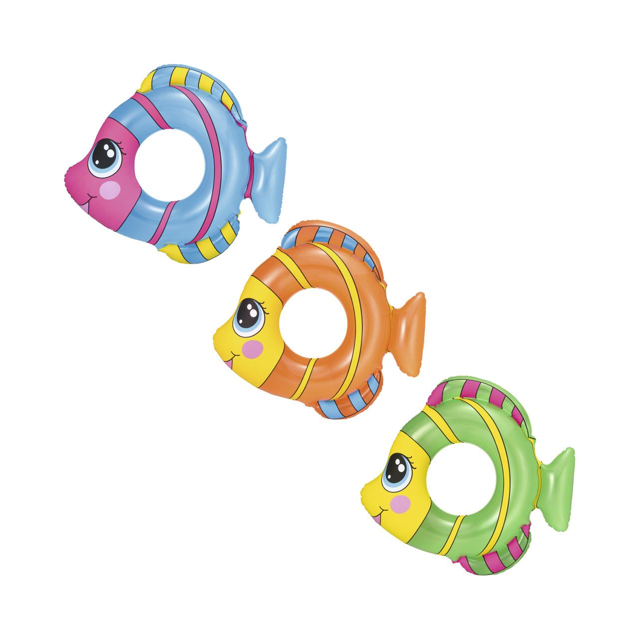 """Надувной круг для плавания """"Рыбки"""""""