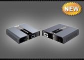 Удлинитель HDMI по UTP, FTP, SFTP LKV393, комплект
