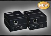 Удлинитель HDMI по UTP, FTP, SFTP WHD-ES02 TX+RX, комплект