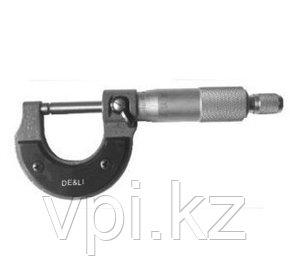 Микрометр механический 0-25мм De&Li