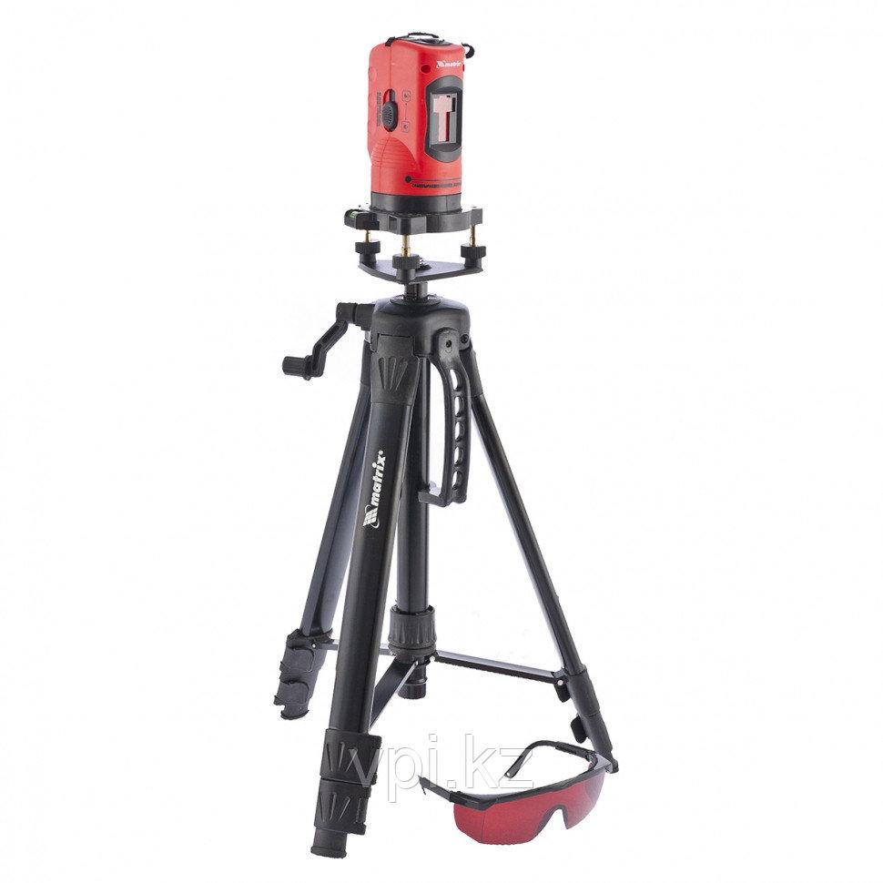 Уровень лазерный, 150 мм, штатив 1150 мм, самовыравнивающийся Matrix