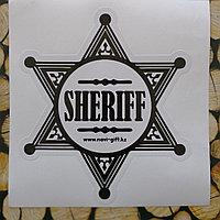 "Наклейка на авто ""Шериф"", фото 1"