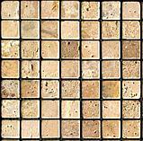 """Штамп силиконовый """"Мозаика Травертин 5х5см"""", фото 3"""