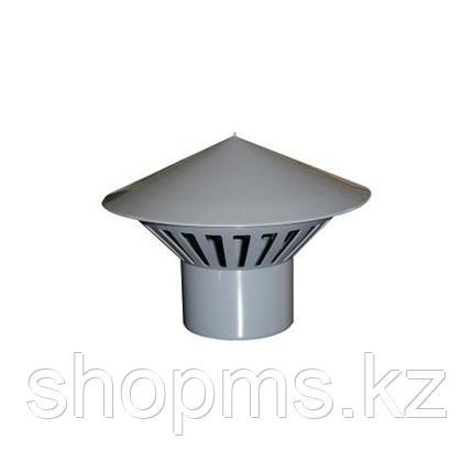 Зонт вентиляционный ПП ф110 (Гриб), фото 2