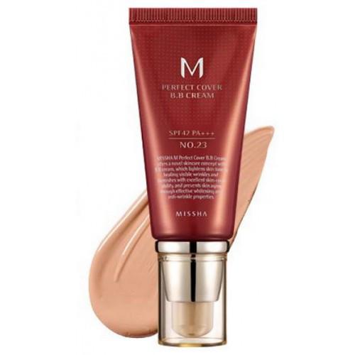 MISSHA M Perfect Cover BB Cream 23 - Naturale Beige - натуральный беж 50 мл.