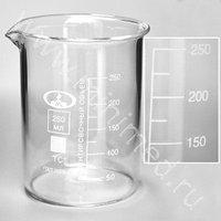 Стаканы лабораторные (тип Н, низкие с делениями и носиком), ТС (ГОСТ 25336-82)