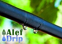 Капельный полив, трубка садовая AD SUPER LINE d16 PN 2 бар тс 1мм/39 мил, 2л/ч  шаг 60см, бухта 400м