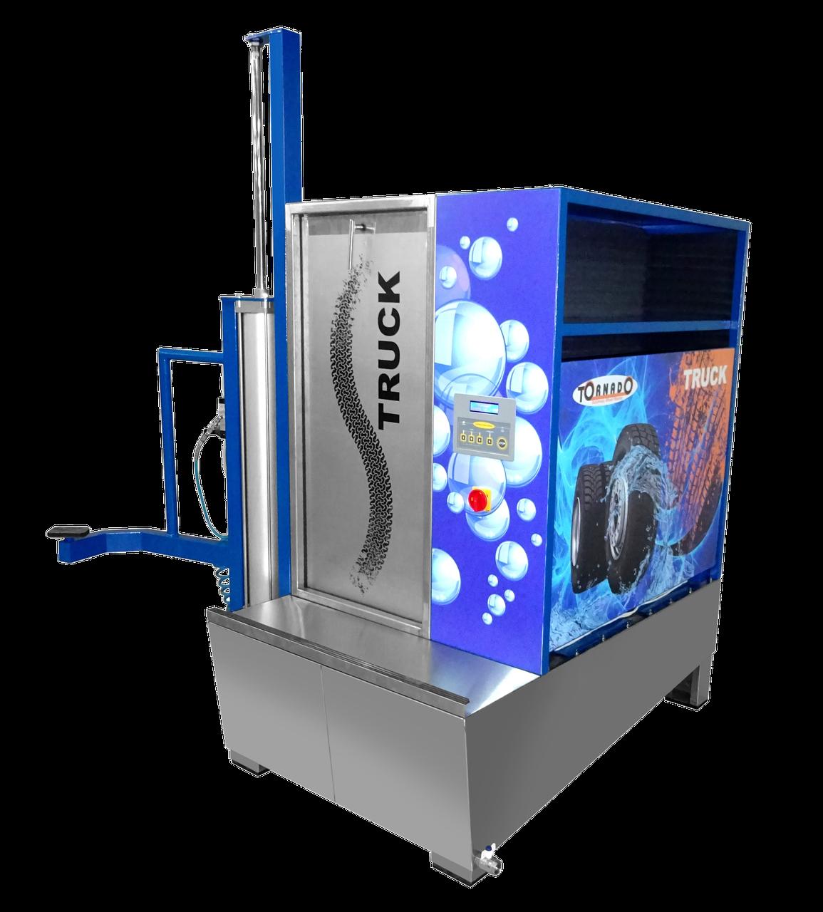 Автоматическая мойка для колес грузовых автомобилей Торнадо-Truck
