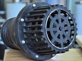 Обратный клапан Ø 110, полиэтиленовый