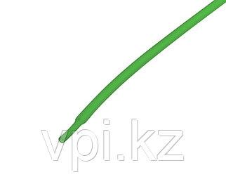 Термоусадочная трубка - зеленая 3.5/1.75мм 1м REXANT