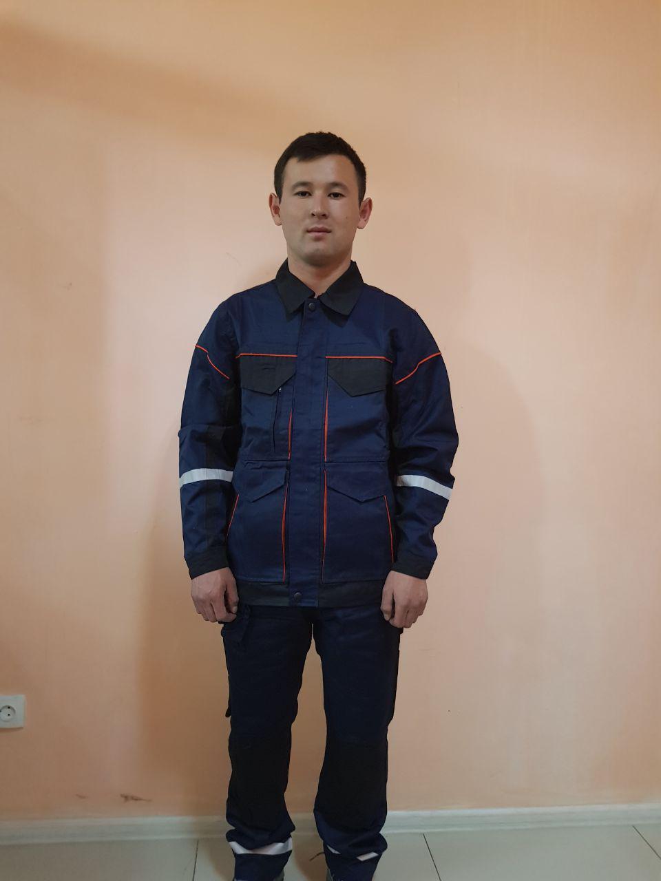Костюм ПРОФИ Куртка на молнии+брюки. - фото 1