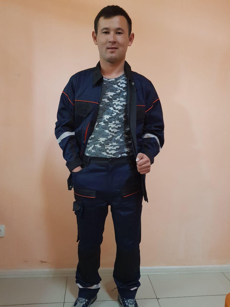 Костюм ПРОФИ Куртка на молнии+брюки. - фото 2