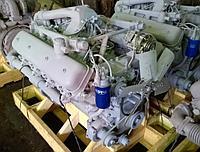 Двигатель (индивидуальной сборки) на блоке нового образца, вал номинал Без кпп и сцепления ЯМЗ 238нд5-1000186