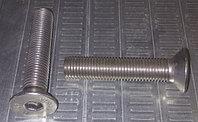 Винт DIN 7991 M16х80 длина резьбы 44мм, нержавеющая сталь А2, гайка DIN 934, А2