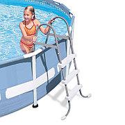 Лестница для бассейнов высотой борта до 91 см, Intex 28064