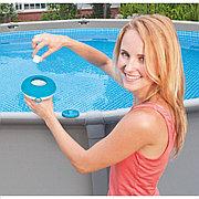 Плавающий поплавок-дозатор маленький для 20г таблеток, Intex 29040