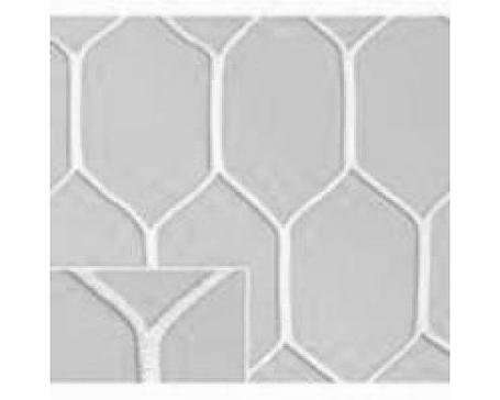 Сетка шестигранная для мини футбольных ворот нить D=5 мм (3х2 м), фото 2