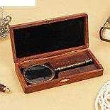 "Сувенир лупа рукоять из металла ""Пиратская"" 3,2х11х23 см , фото 2"